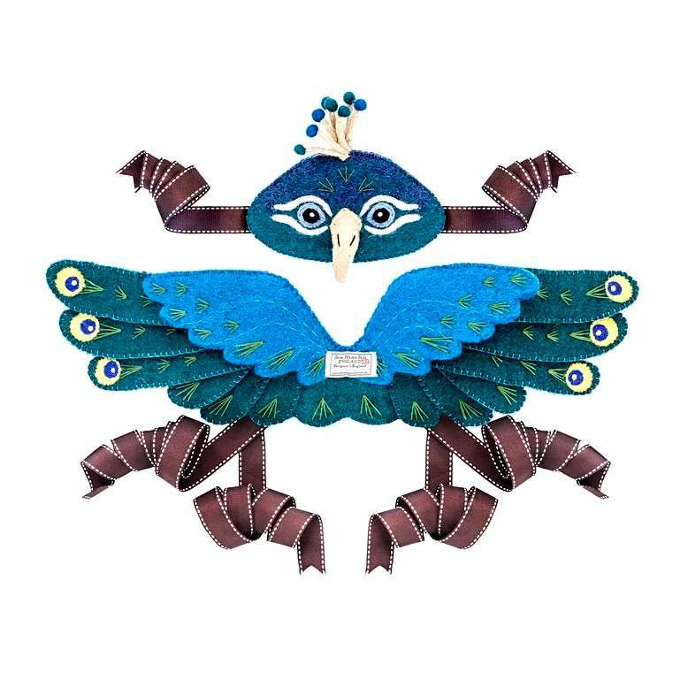 Sew Heart Felt: Piers Peacock Head Dress and Wings