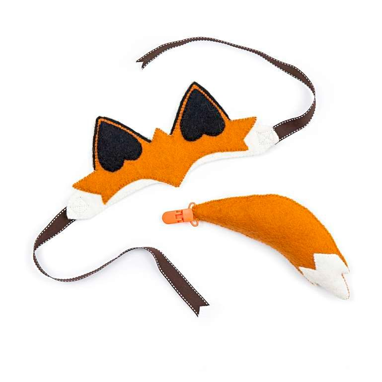 Sew Heart Felt: Finlay Fox Dressing Up