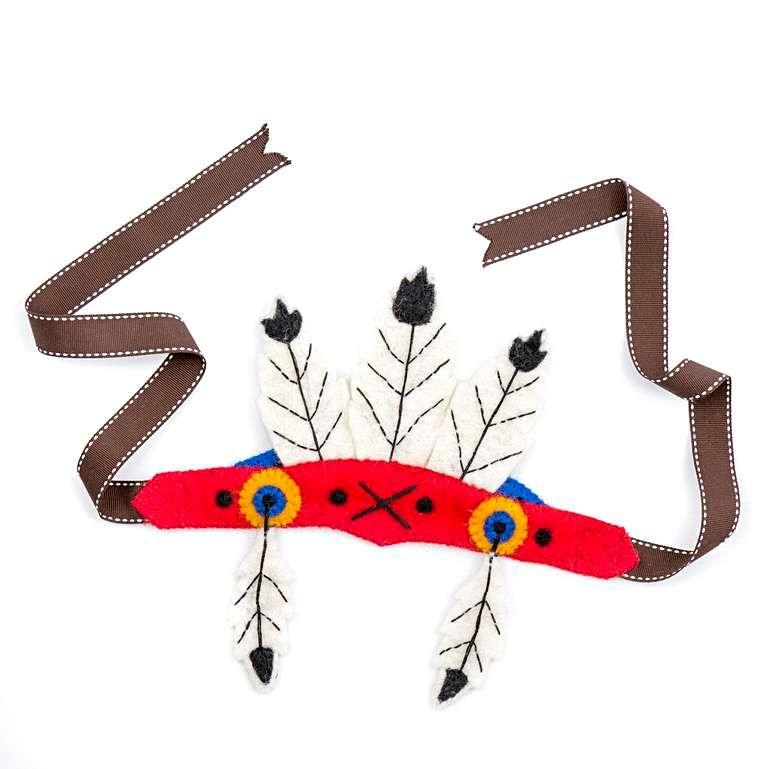 Sew Heart Felt: Native American Feather Head Dress