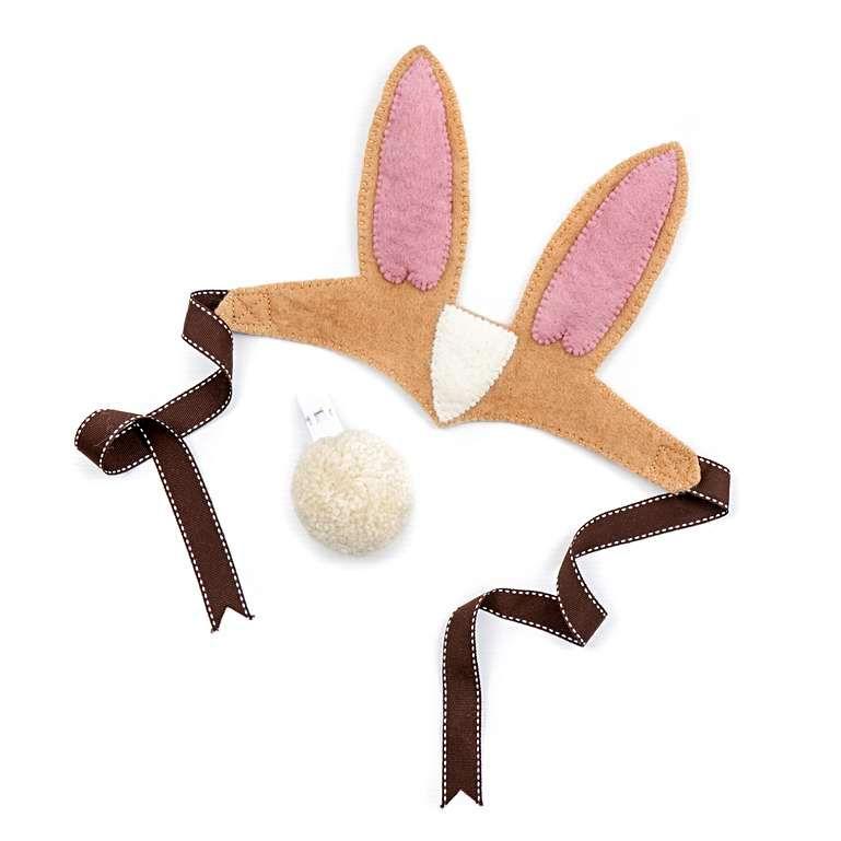 Sew Heart Felt: Ruby Rabbit Dressing Up