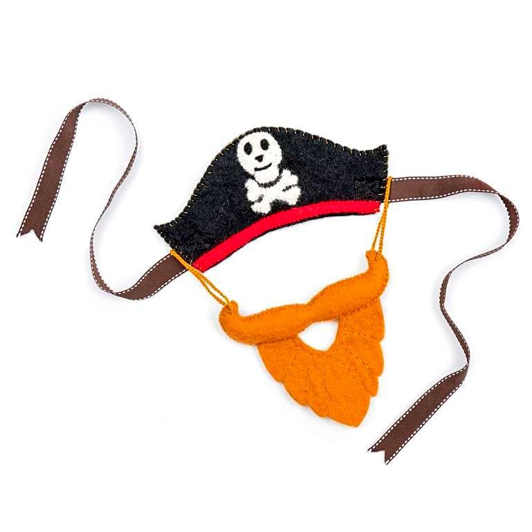 Sew Heart Felt: Pirate Hat and Bushy Beard