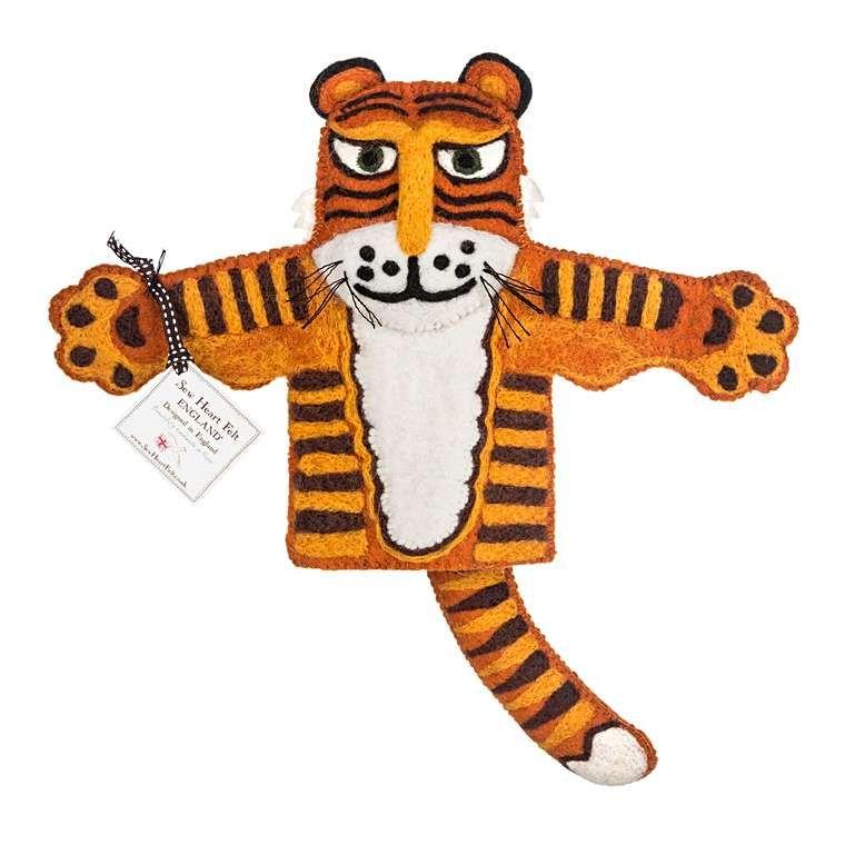 Sew Heart Felt: Raj the Tiger Hand Puppet