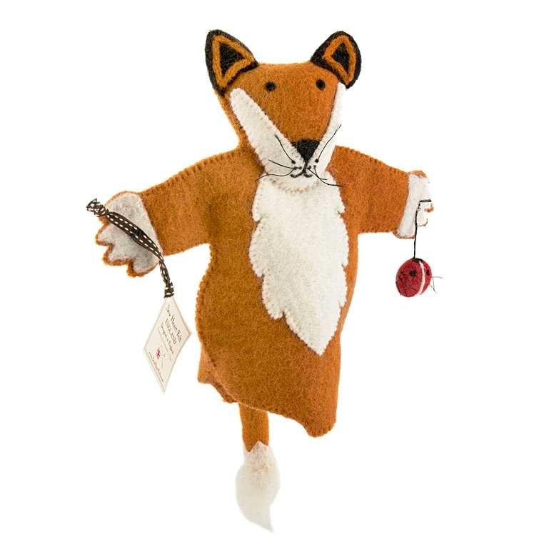 Sew Heart Felt: Finlay Fox Hand Puppet