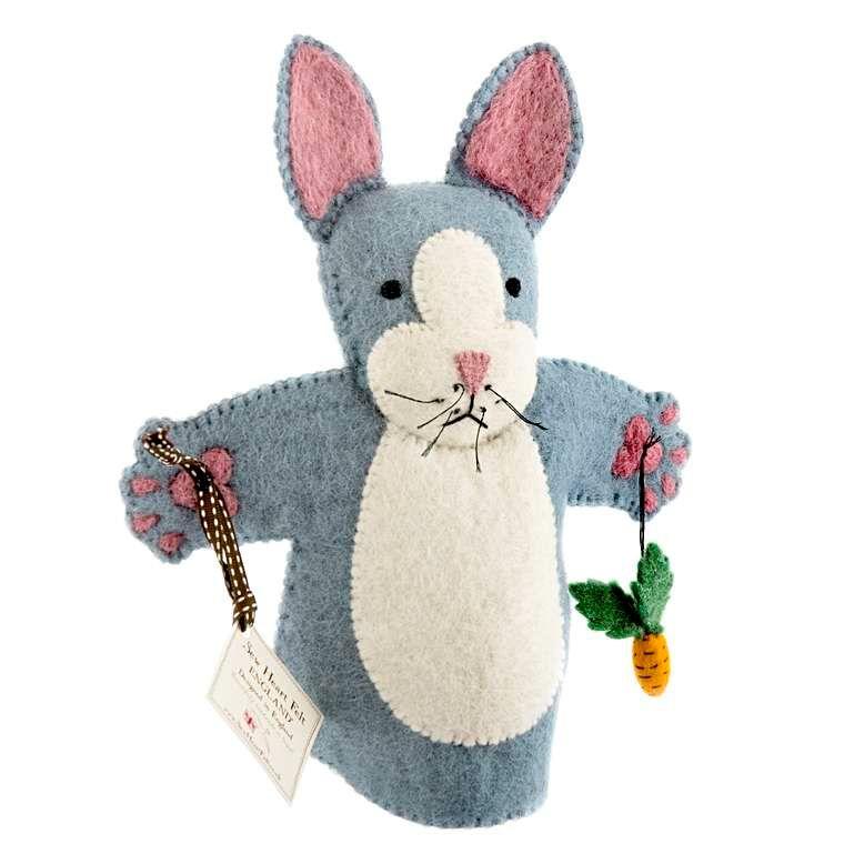 Sew Heart Felt: Rory Rabbit Hand Puppet