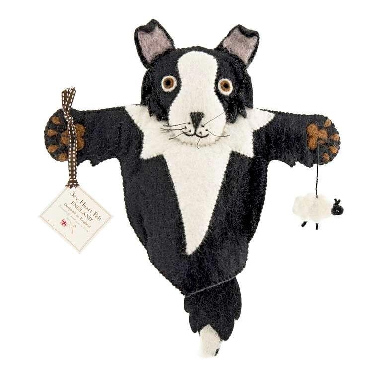 Sew Heart Felt: Shep the Sheep Dog Hand Puppet