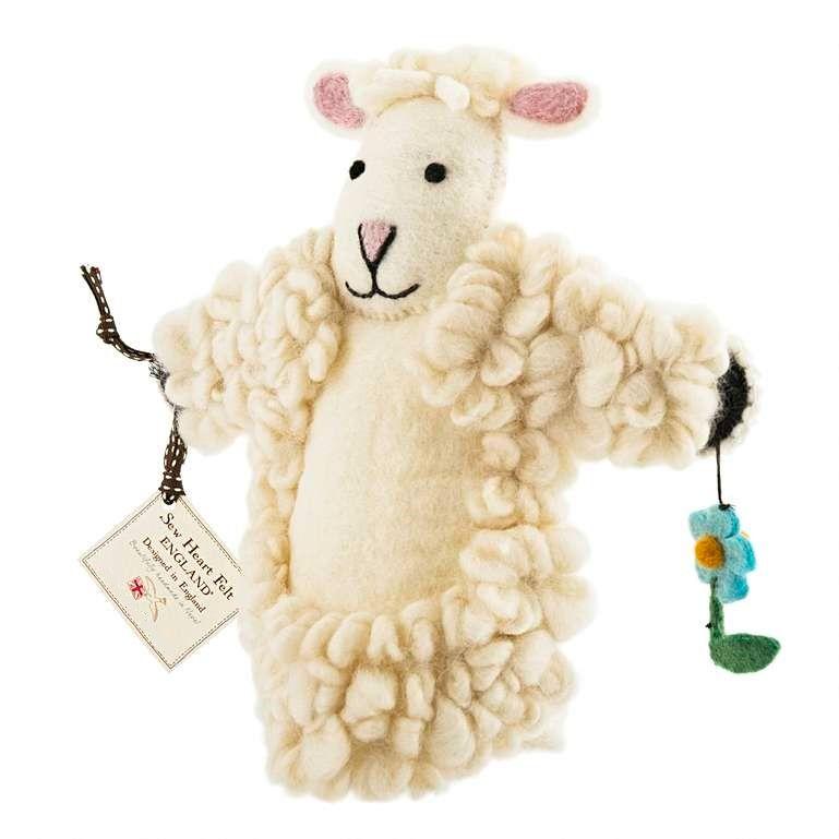 Sew Heart Felt: Shirley Sheep Hand Puppet