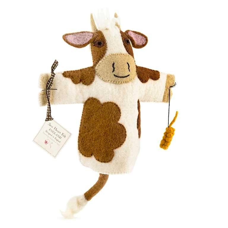 Sew Heart Felt: Buttercup Cow Hand Puppet