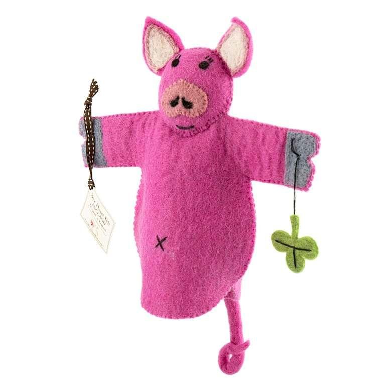 Sew Heart Felt: Percy the Pig Hand Puppet