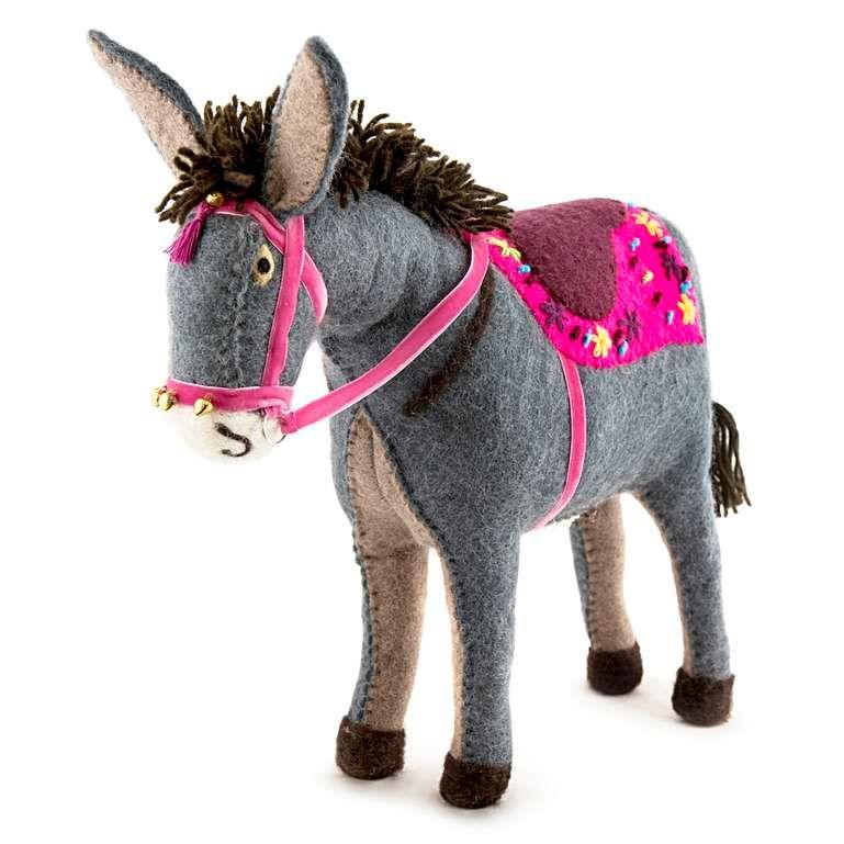 Sew Heart Felt: Rupert the Beach Donkey