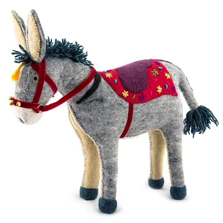 Sew Heart Felt: Violet the Beach Donkey