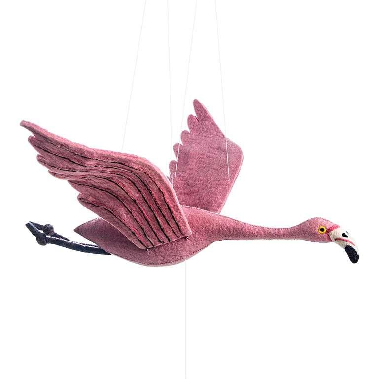 Sew Heart Felt: Flapping Flamingo Mobile