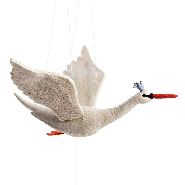 Sew Heart Felt: Flapping Swan Mobile