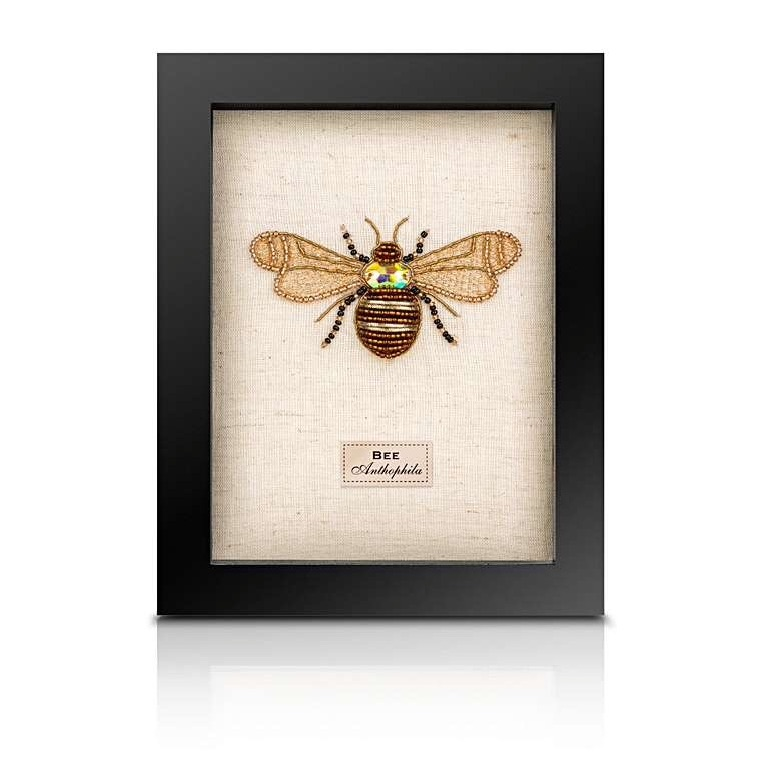 Sew Heart Felt: Beaded Bee