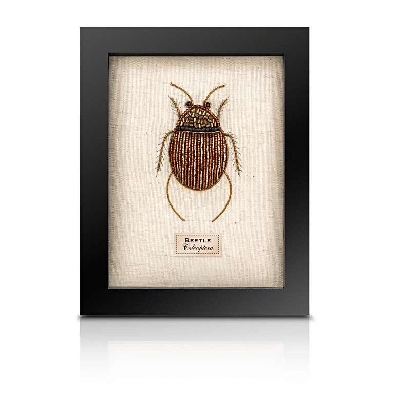 Sew Heart Felt: Beaded Fat Beetle