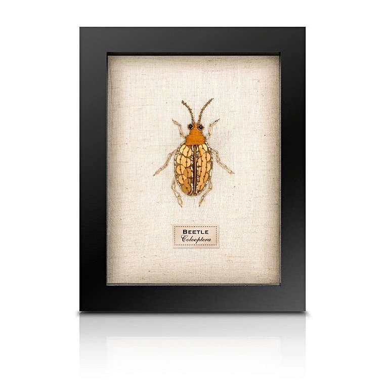 Sew Heart Felt: Beaded Spotty Beetle