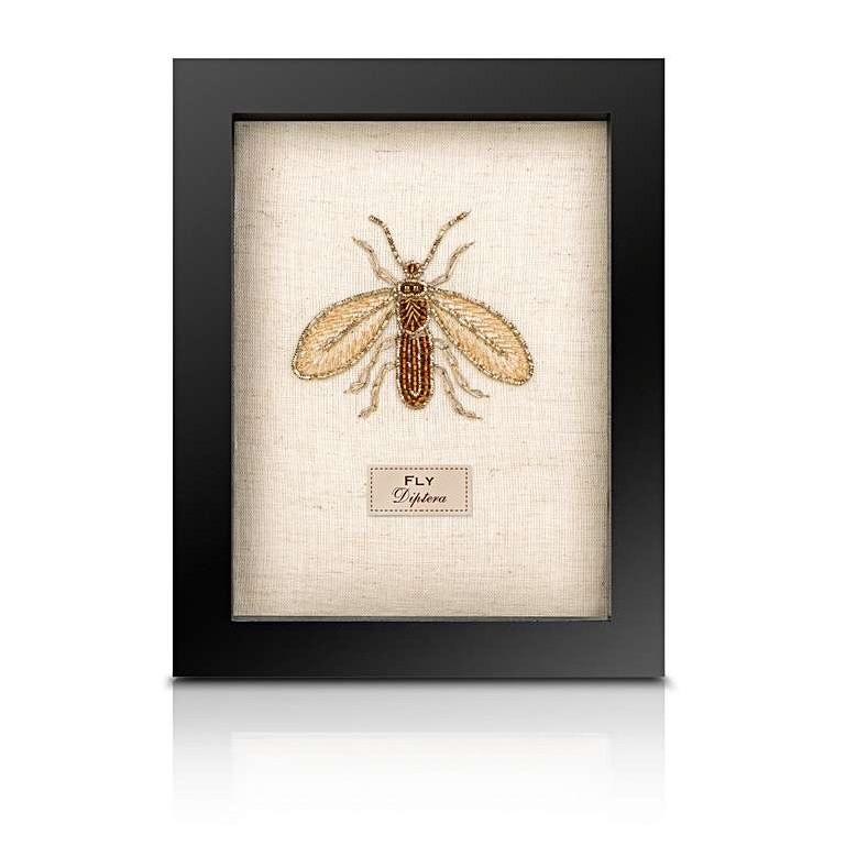Sew Heart Felt: Beaded Fly