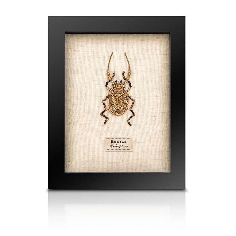 Sew Heart Felt: Beaded Stag Beetle