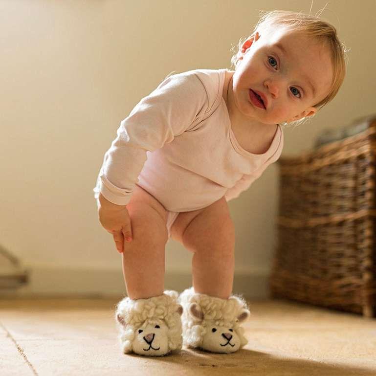 Sew Heart Felt Childrens Animal Slipper Boots