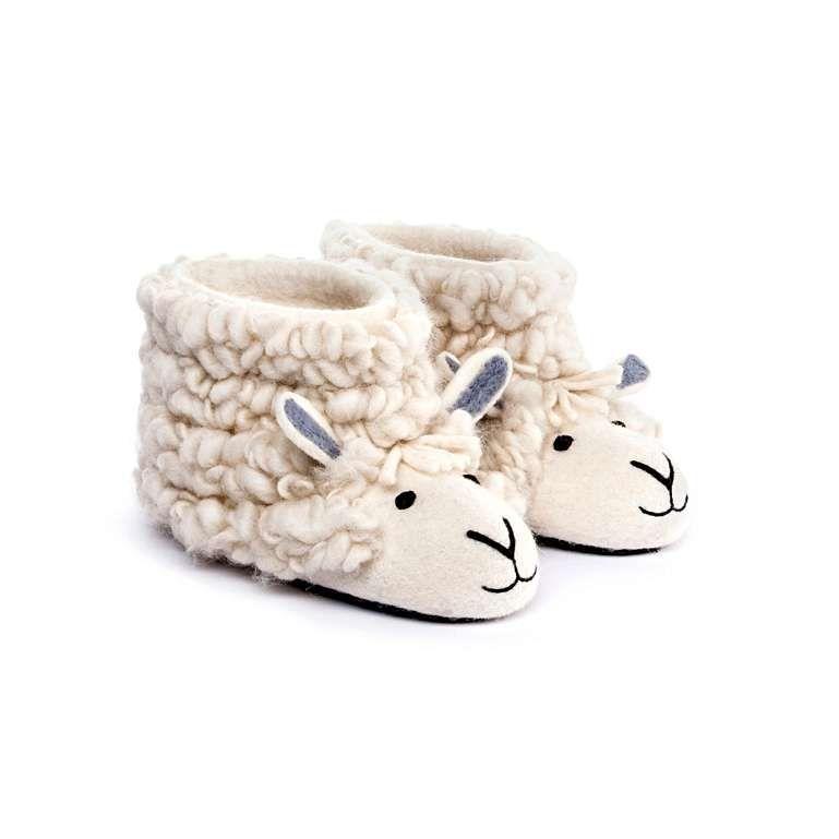 Sew Heart Felt: Sherry Sheep Slippers