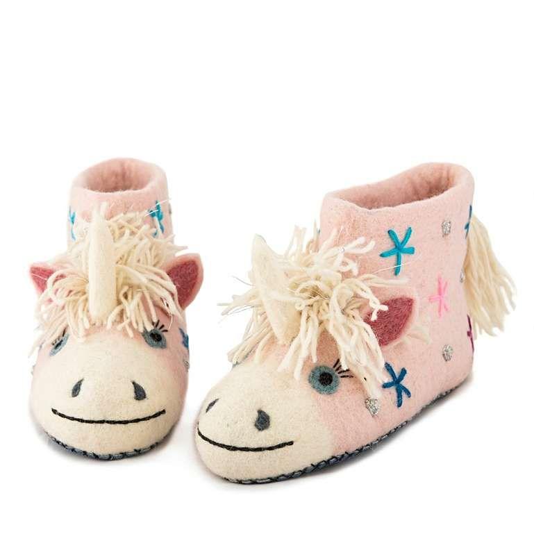 Sew Heart Felt: Celeste the Unicorn Slippers