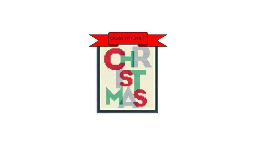 Cinnamon Stitch: Christmas Cross Stitch Kit