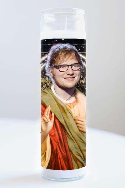 Celebrity Prayer Candle: Ed Sheeran