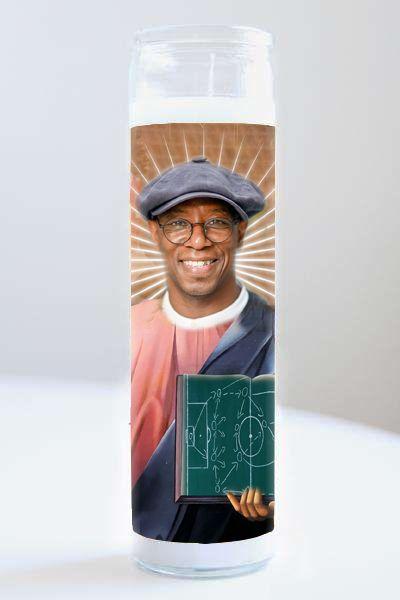 Celebrity Prayer Candle: Ian Wright