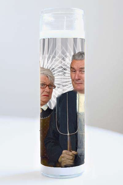 Celebrity Prayer Candle: Goggle box