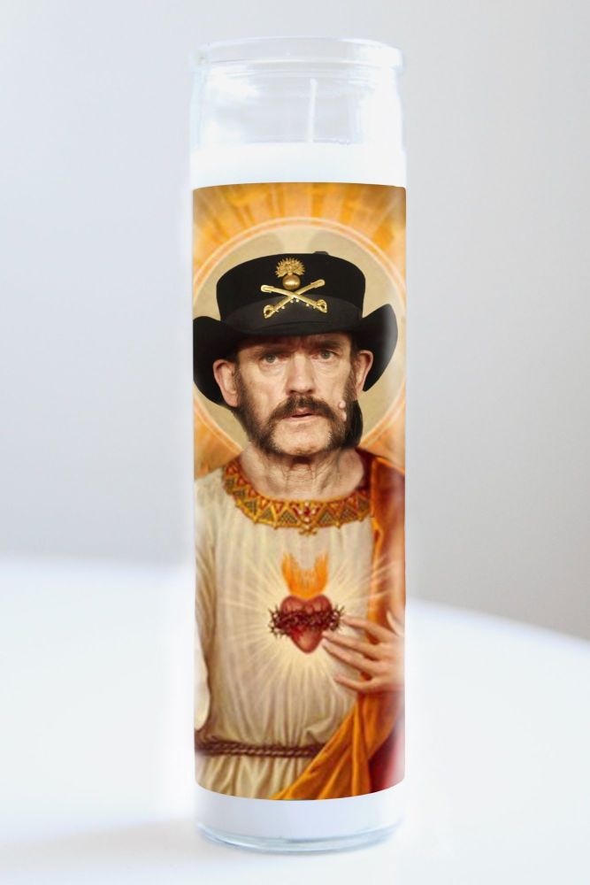 Celebrity Prayer Candle: LEMMY