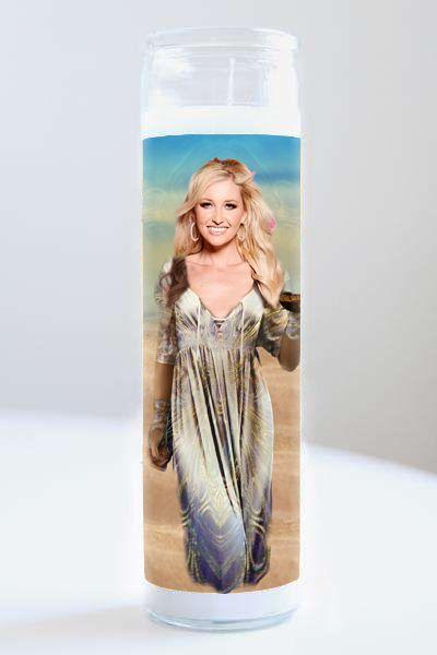 Celebrity Prayer Candle: Amy Hart (Love Island)