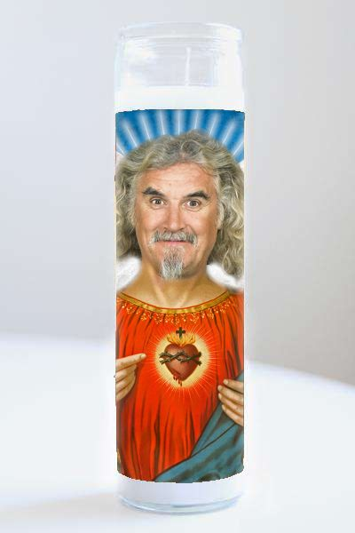 Celebrity Prayer Candle: Billy Connolly