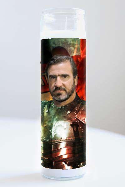 Celebrity Prayer Candle: Eric Cantona