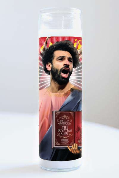 Celebrity Prayer Candle: Mohamed Salah