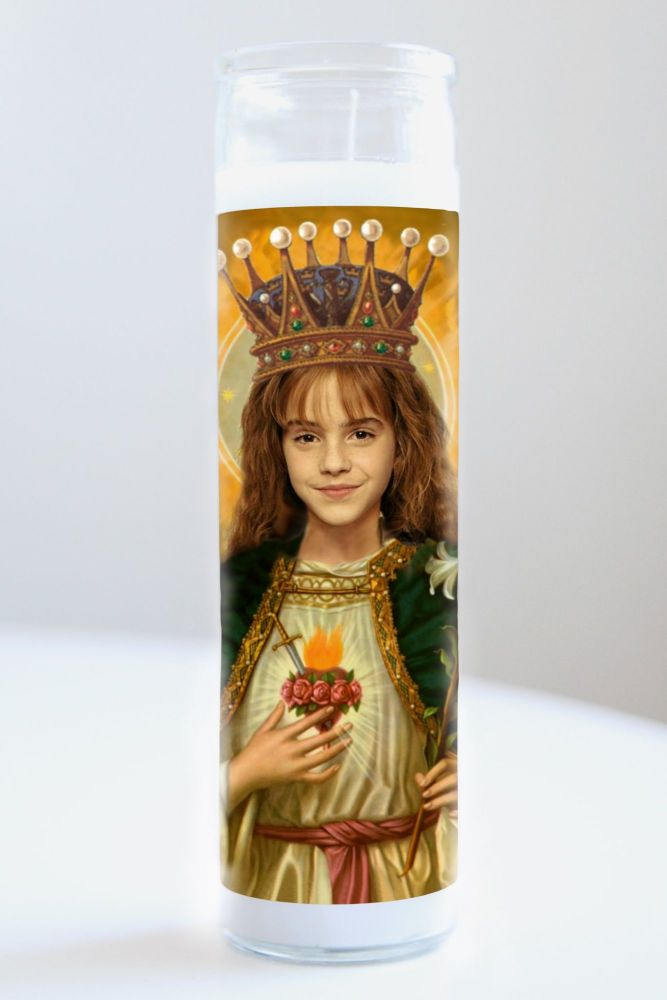 Celebrity Prayer Candle: HERMIONE GRANGER (HARRY POTTER)