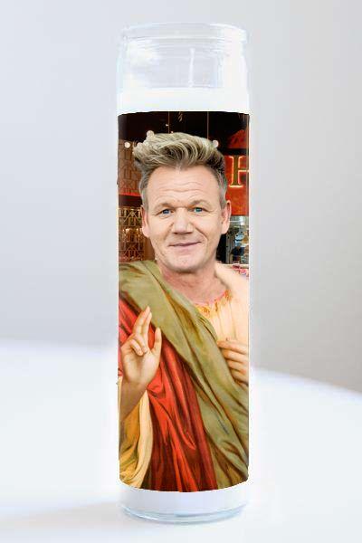 Celebrity Prayer Candle: Gordon Ramsay