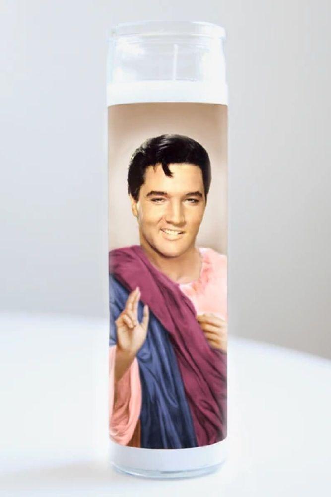 Celebrity Prayer Candle: ELVIS PRESLEY