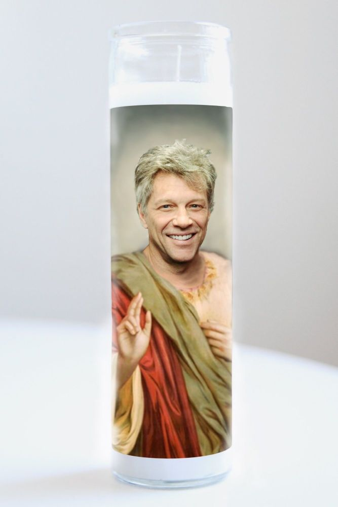Celebrity Prayer Candle: JON BON JOVI