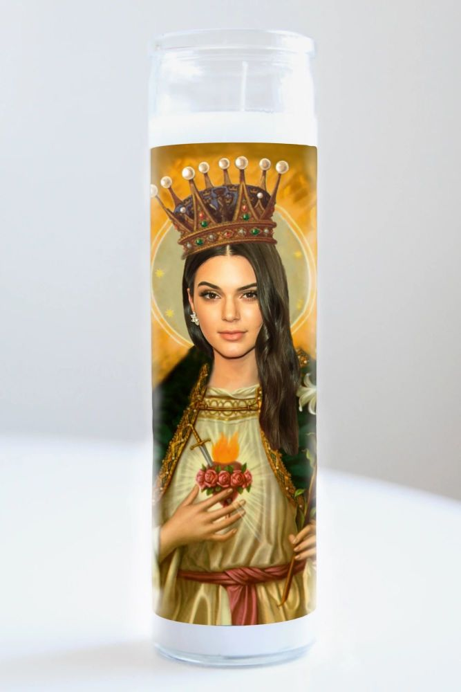 Celebrity Prayer Candle: KENDALL JENNER