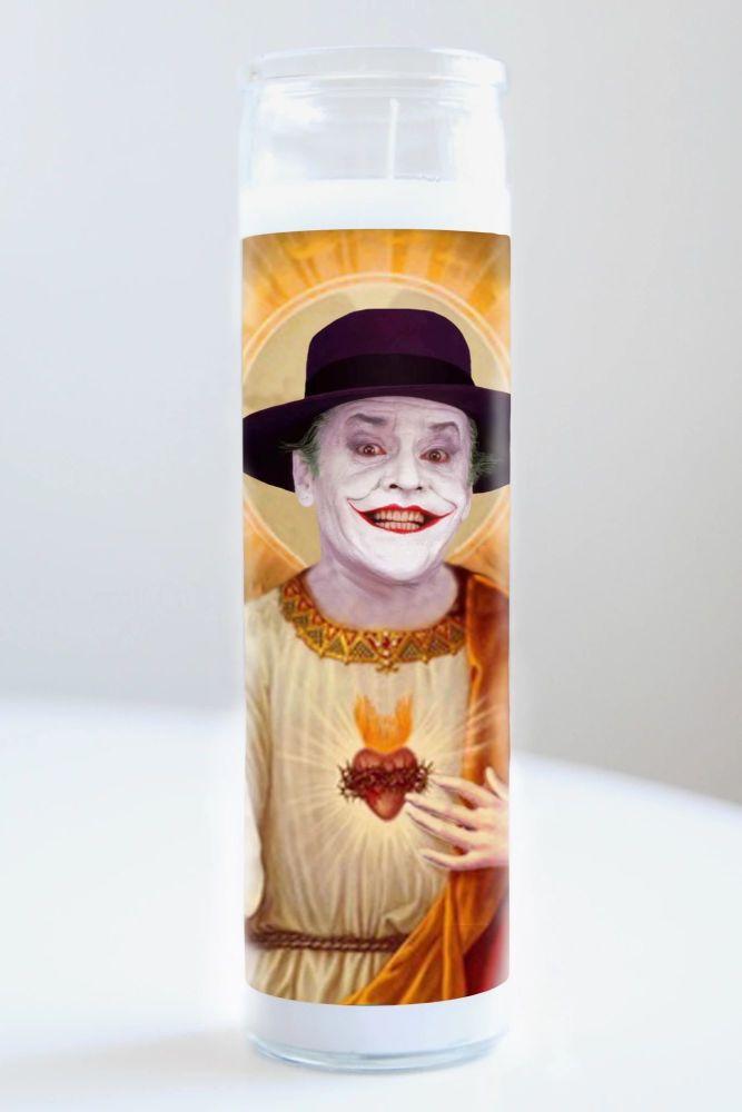 Celebrity Prayer Candle: JACK NICHOLSON (JOKER)