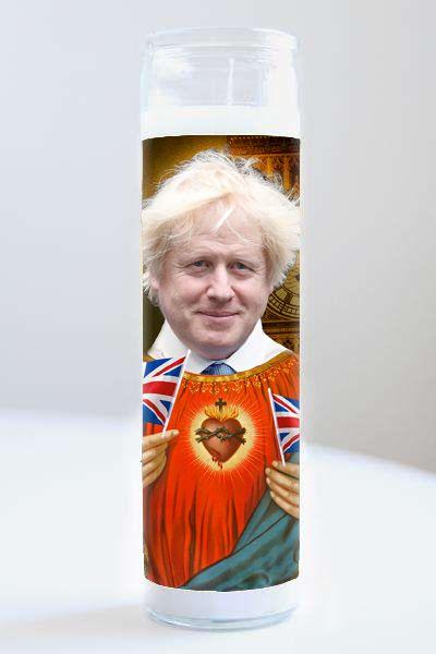 Celebrity Prayer Candle: Boris Johnson
