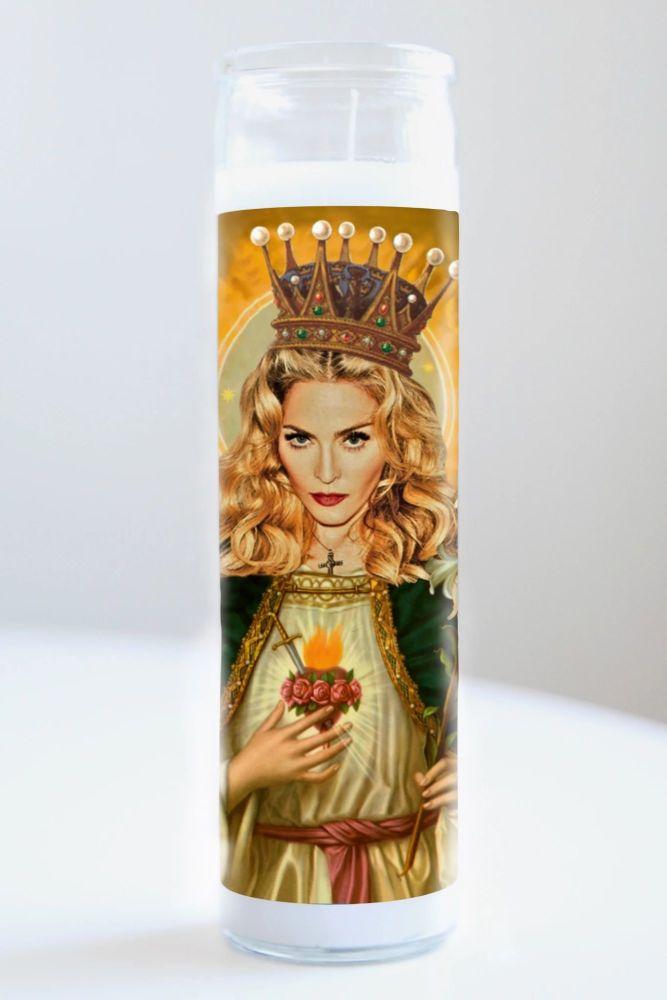 Celebrity Prayer Candle: MADONNA