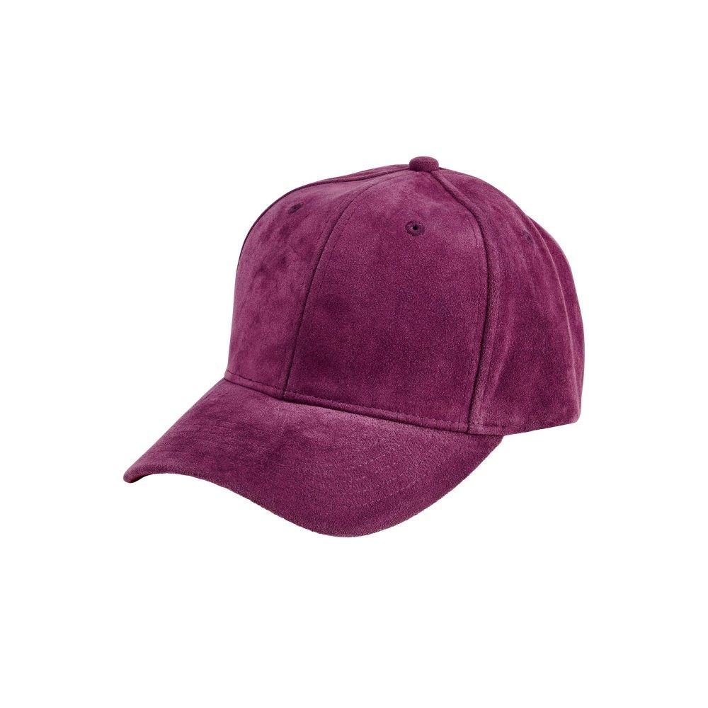 San Diego Hat Company: Women's faux suede ball cap