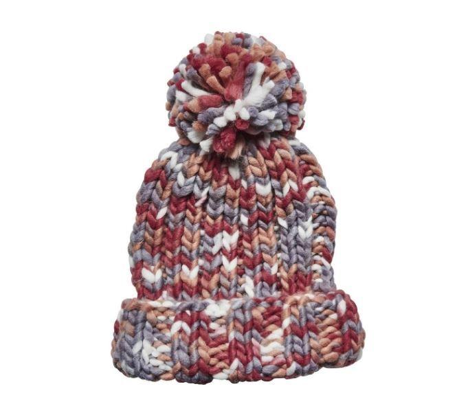 San Diego Hat Company: Women's multi yarn ponytail beanie with cuff