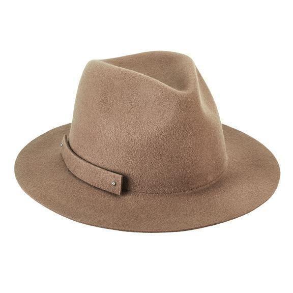 San Diego Hat Company: WOMEN'S PACKABLE WOOL FELT FEDORA