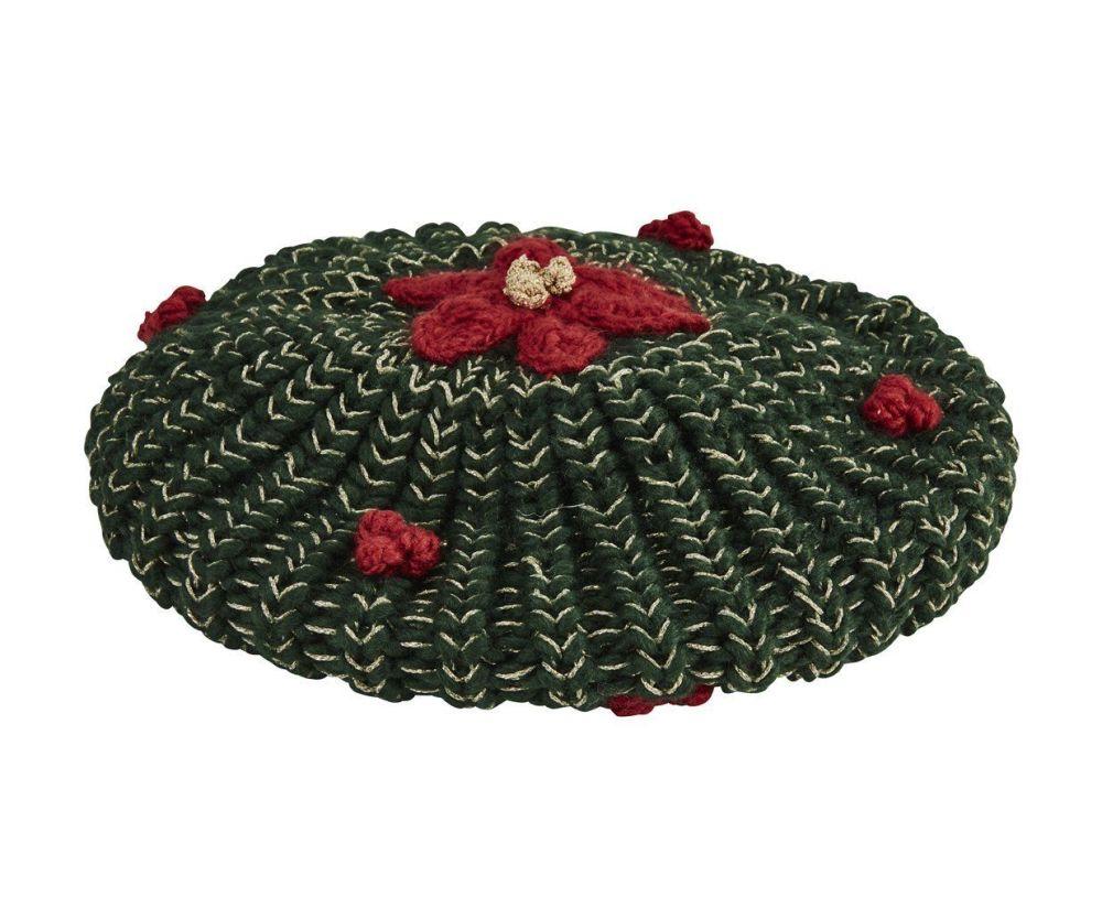 San Diego Hat Company: WOMEN'S POINSETTIA BERET