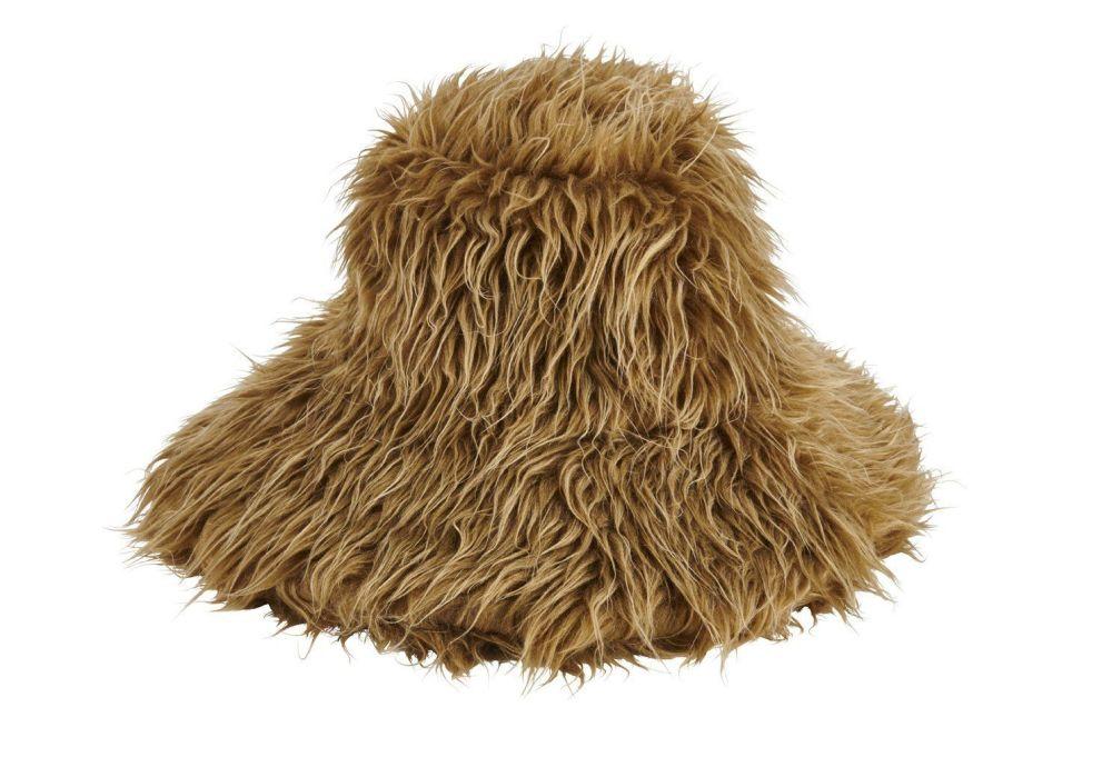 San Diego Hat Company: Women's shaggy faux fur bucket