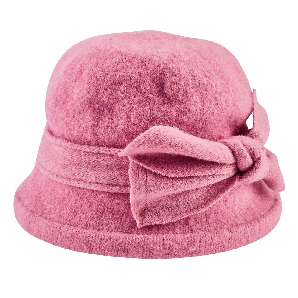 San Diego Hat Company: Women's Soft Knit Cloche With Bow