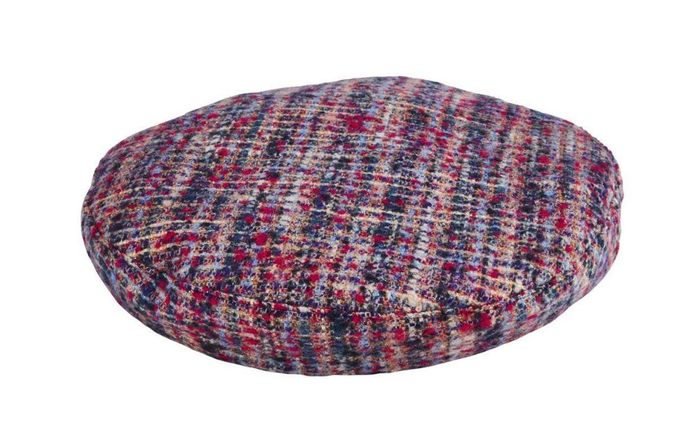 San Diego Hat Company: Women's tweed beret with faux leather band opening