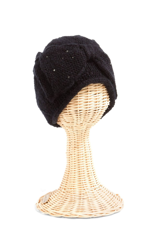 San Diego Hat Company: WOMENS BEAD BOW BEANIE