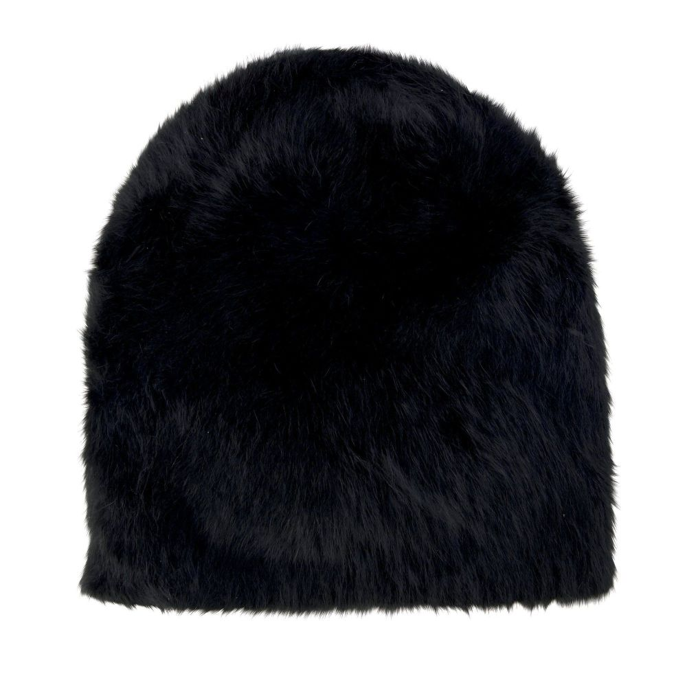 San Diego Hat Company: Womens Oversized Angora Fur Beanie